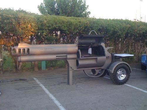 Gun Barbecue Grill