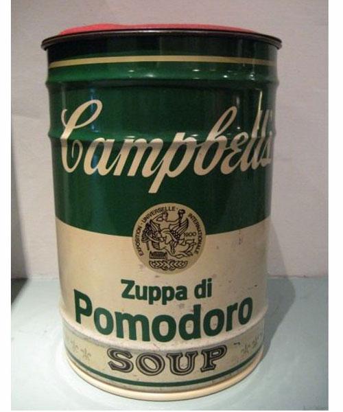 Campbells Soup Stool